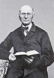 Joseph Bates, vegetarian and one of the founders of the Seventh-day Adventist Church.
