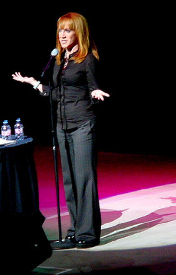 Kathy Griffin Performing in Las Vegas.