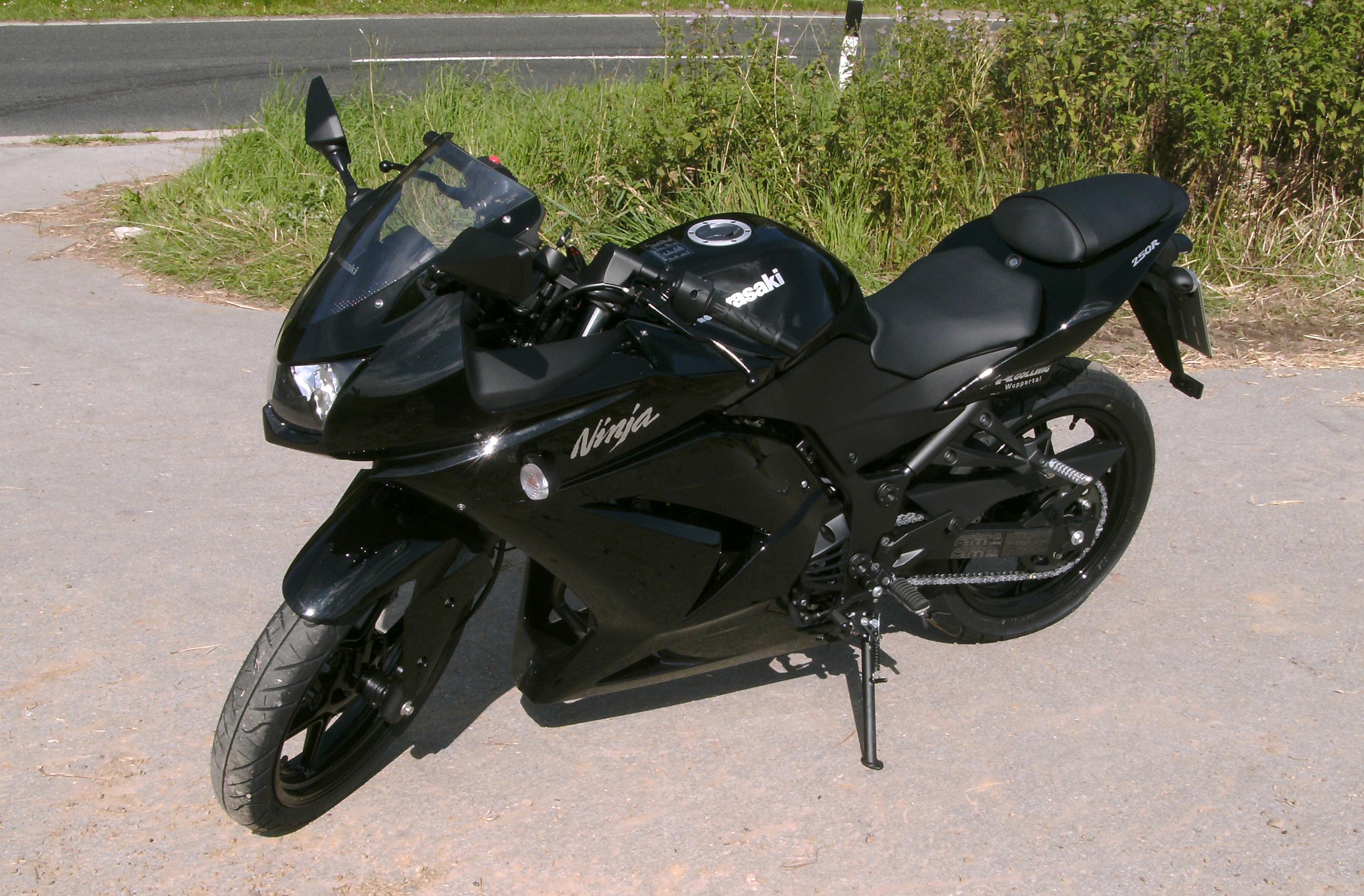 Kawasaki Ninja First Bike