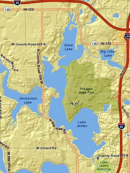 lake james indiana map File Lake James Map From Usgs Jpg Wikimedia Commons lake james indiana map
