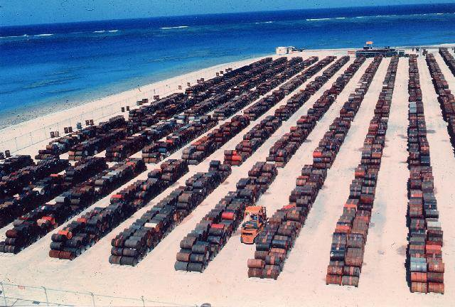 Leaking Agent Orange Barrels at Johnston Atoll.jpg