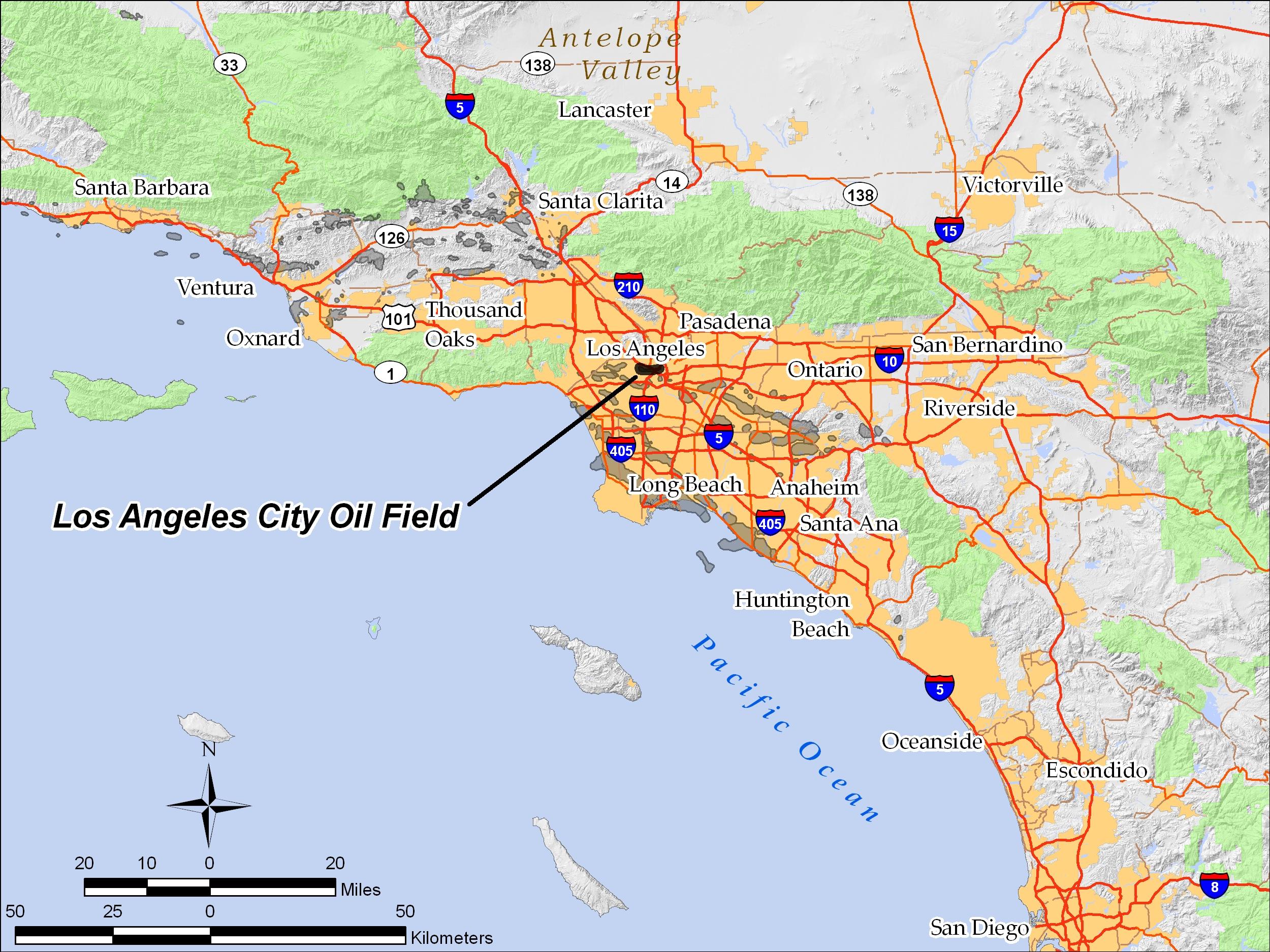 los angeles city oil field - wikipedia