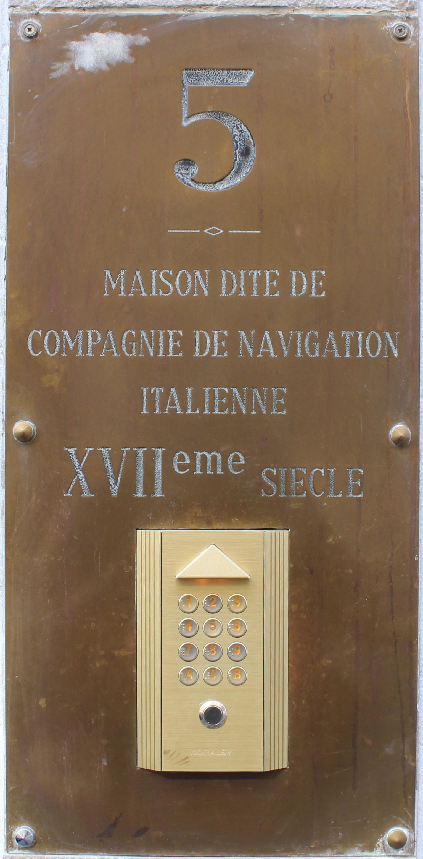 File lyon rue clotilde bizolon maison dite de for Plaque nom de maison