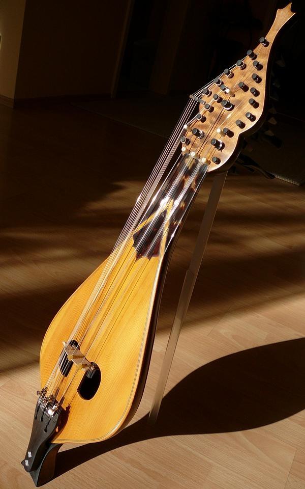 Cretan Lyra Greek Instrument