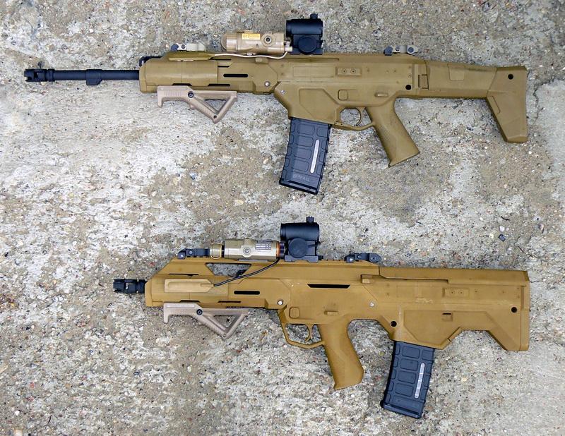 LiveLeak.com - MSBS Radon - new Polish modular rifle.