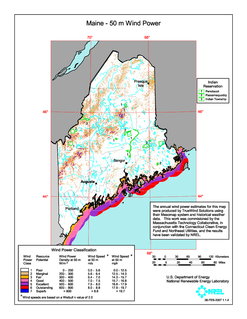 Maine Department Of Natural Resources