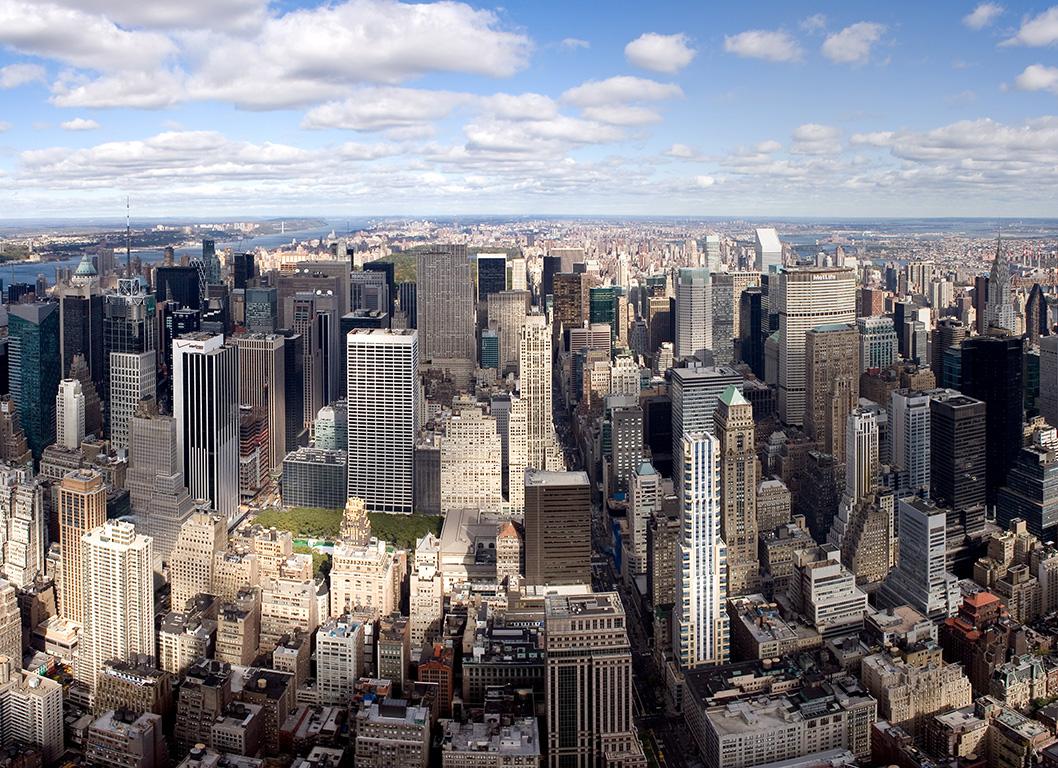 Description manhattan, new york - view from empire state building