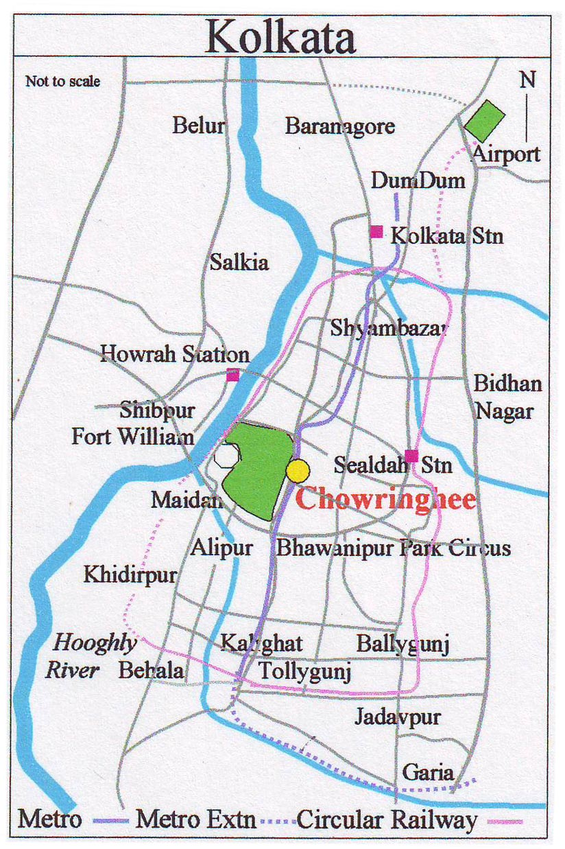 Description Map Kolkata C