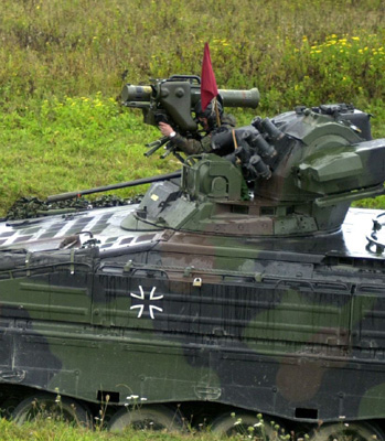 Marder 1A3 turret detail