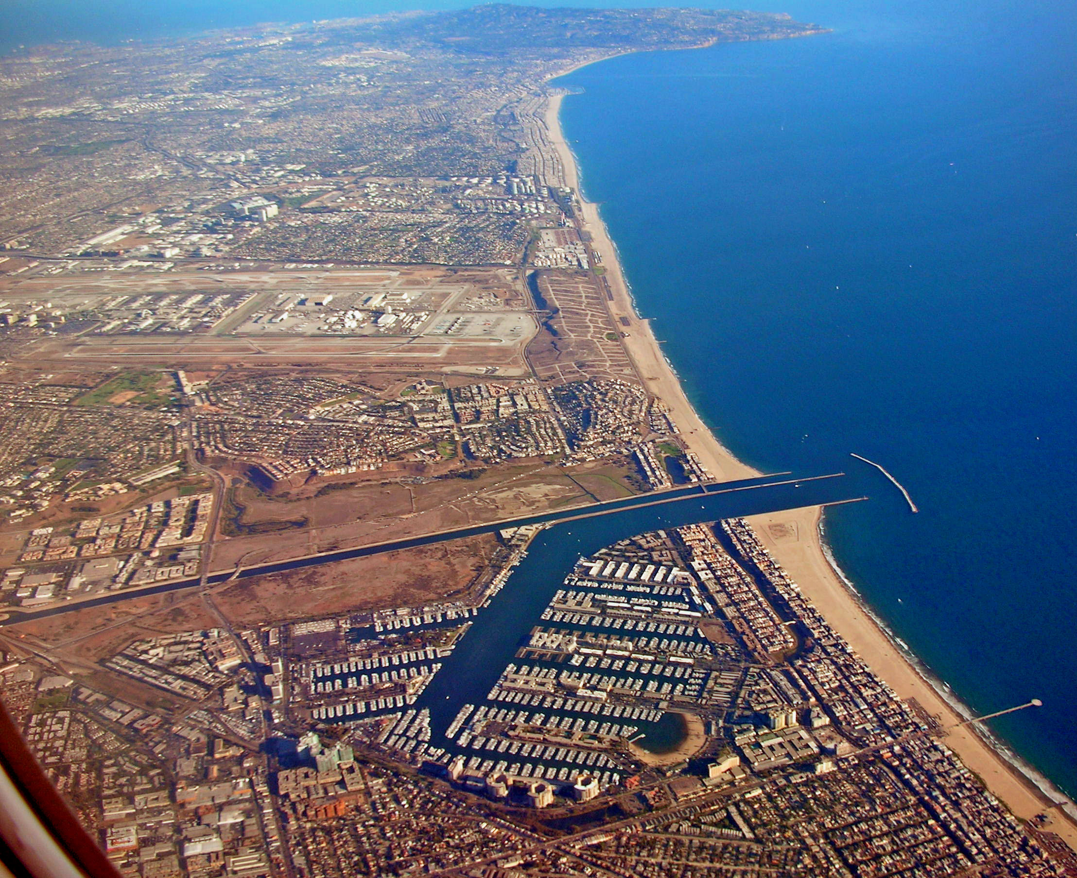File Marina Del Rey Looking South Jpg Wikimedia Commons