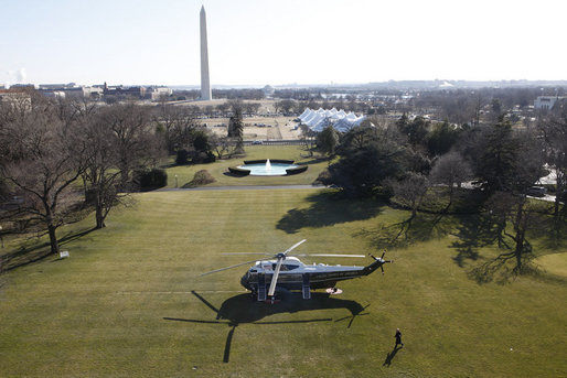 President George Washington File:Marine One, South...
