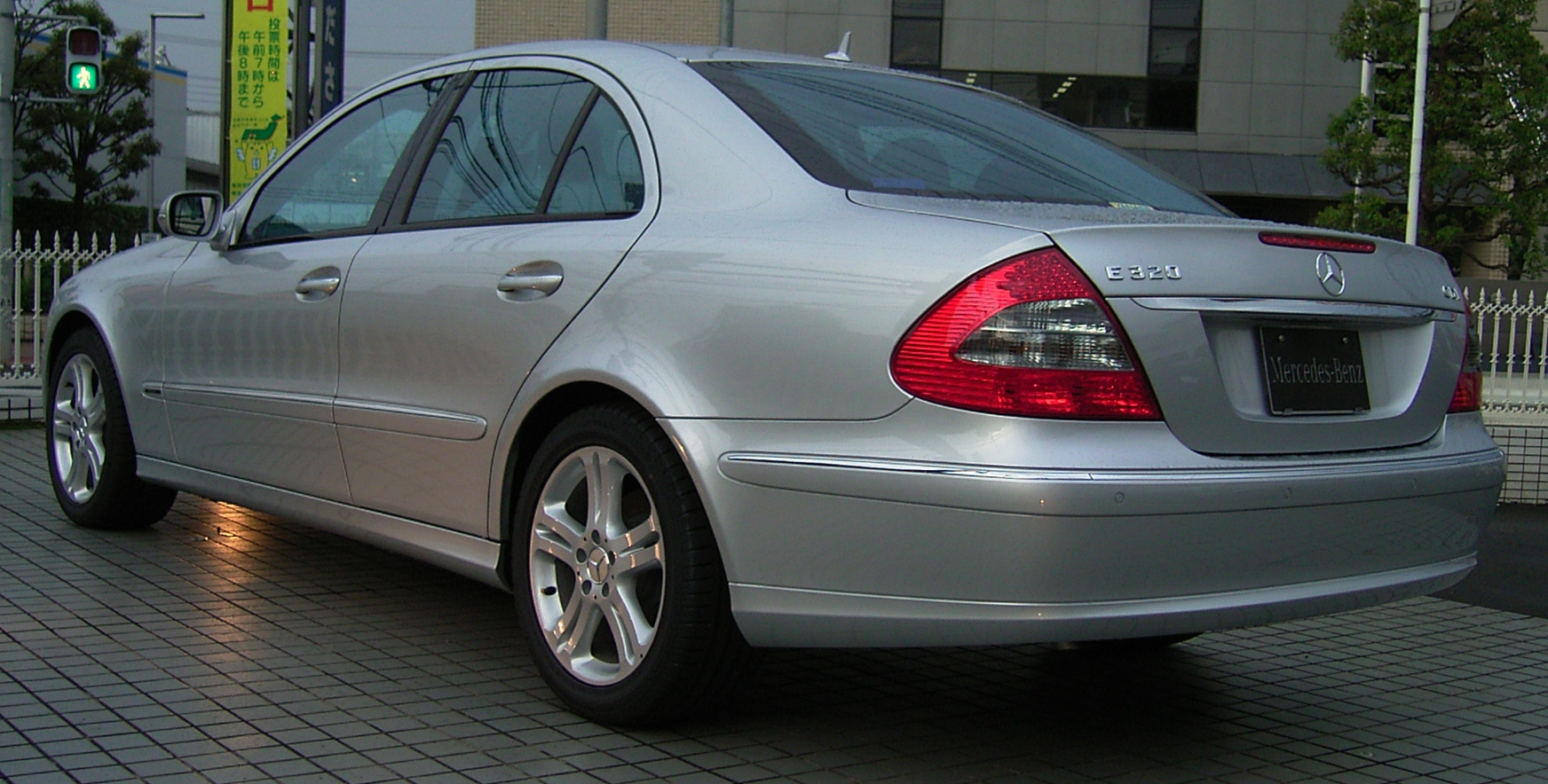 File Mercedes Benz W211 E320 Ja 3 Jpg Wikimedia Commons
