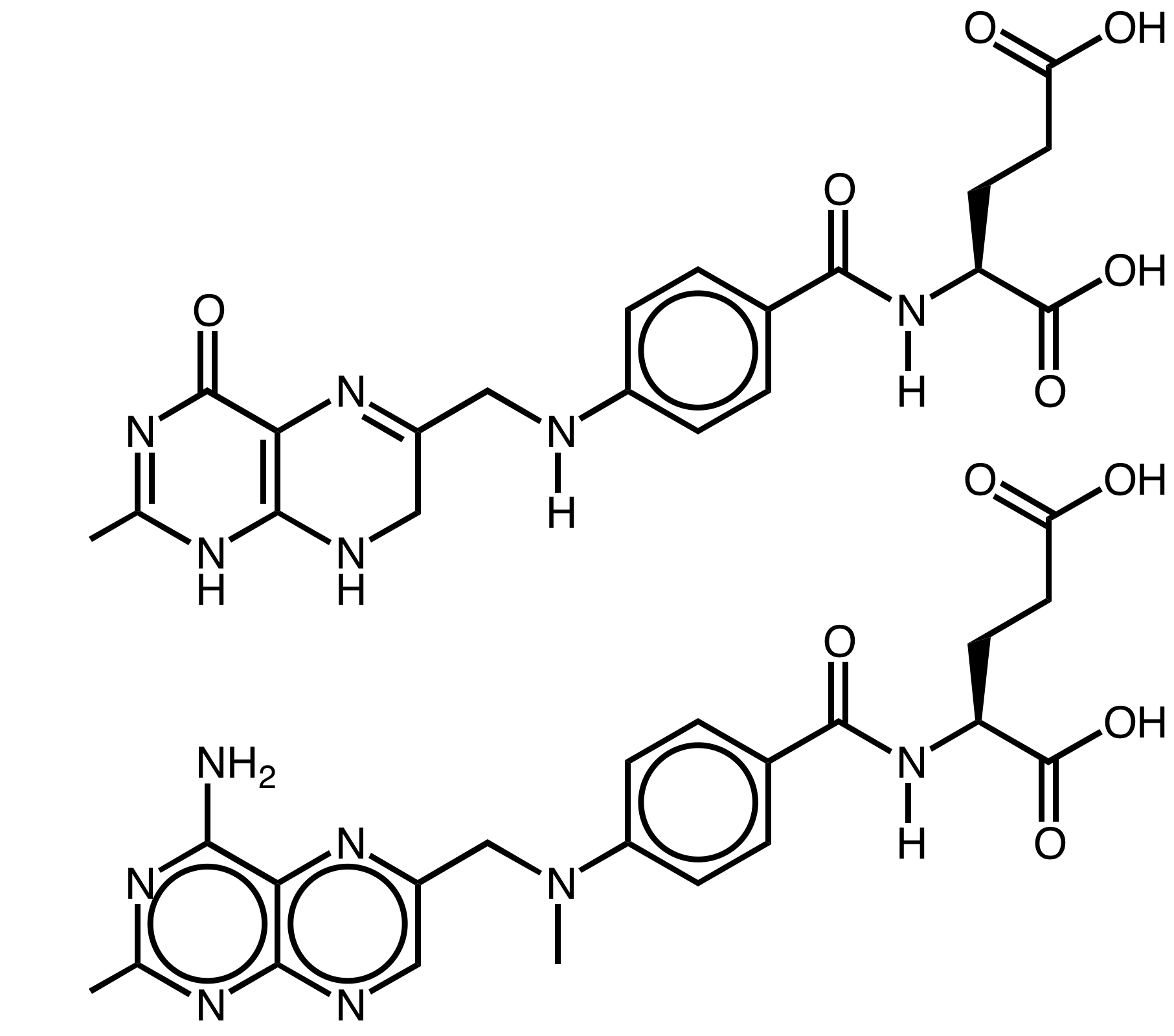 folic acid 1mg methotrexate