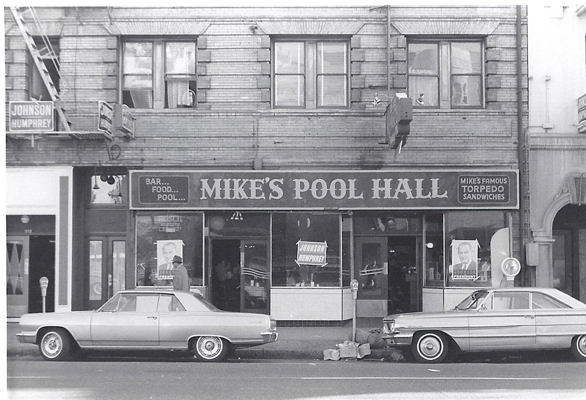 File Mikes Pool Hall San Francisco 1964 Jpg Wikimedia