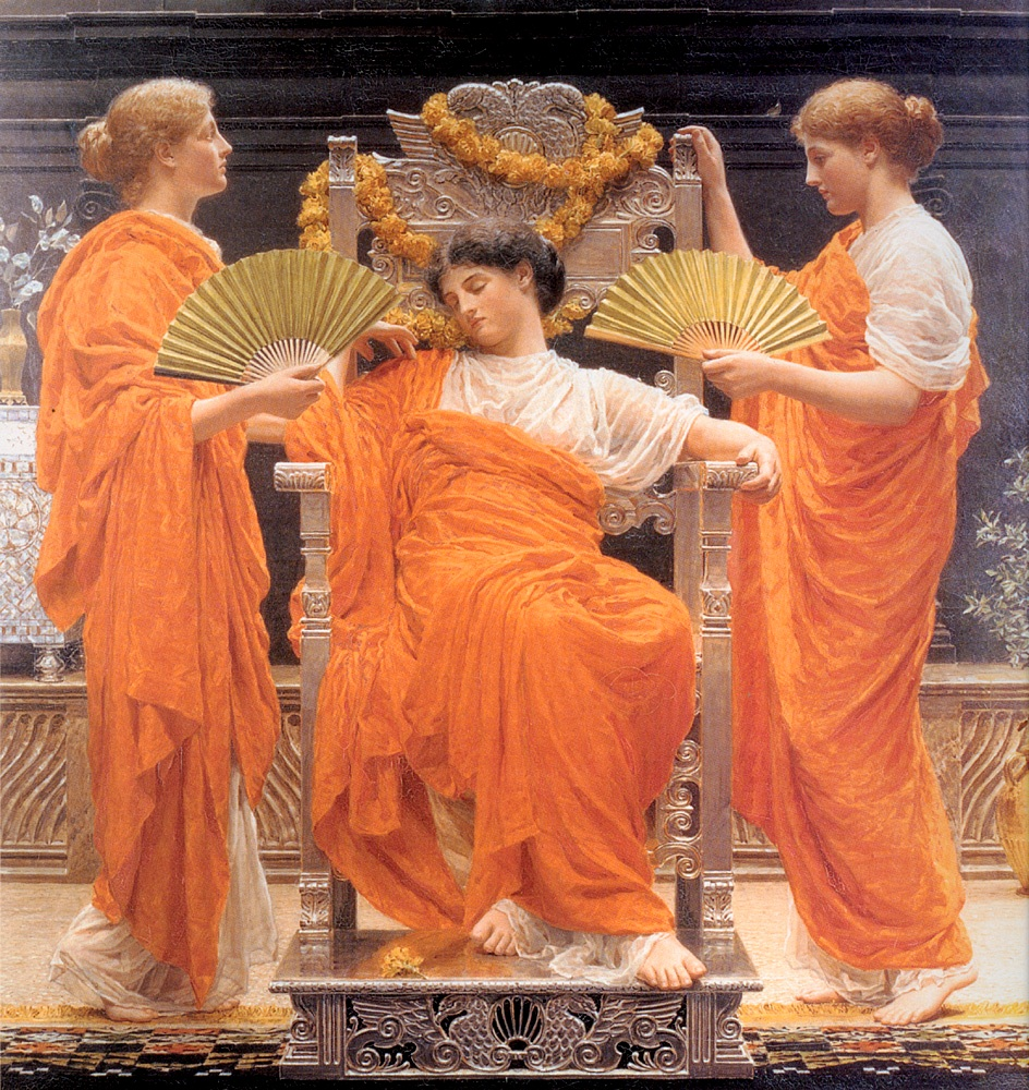 Midsummer by Albert Joseph Moore, 1887