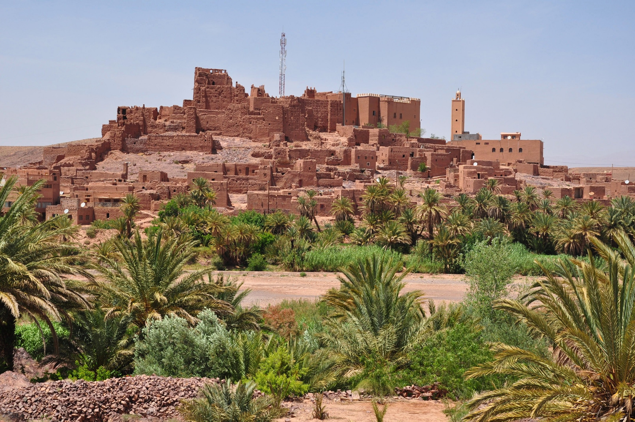 Ouarzazate Morocco  city images : Morocco, Souss Massa Draa Region, Ouarzazate Province, Kasbah ...