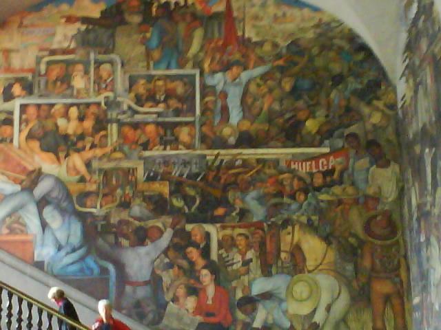 Murales De Diego Rivera Palacio Nacional