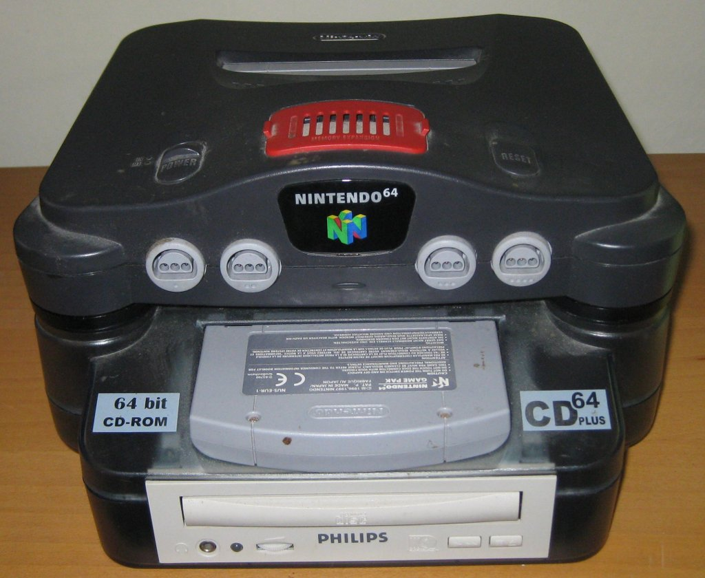 File N64 Mounted On Cd64 Jpg Wikimedia Commons