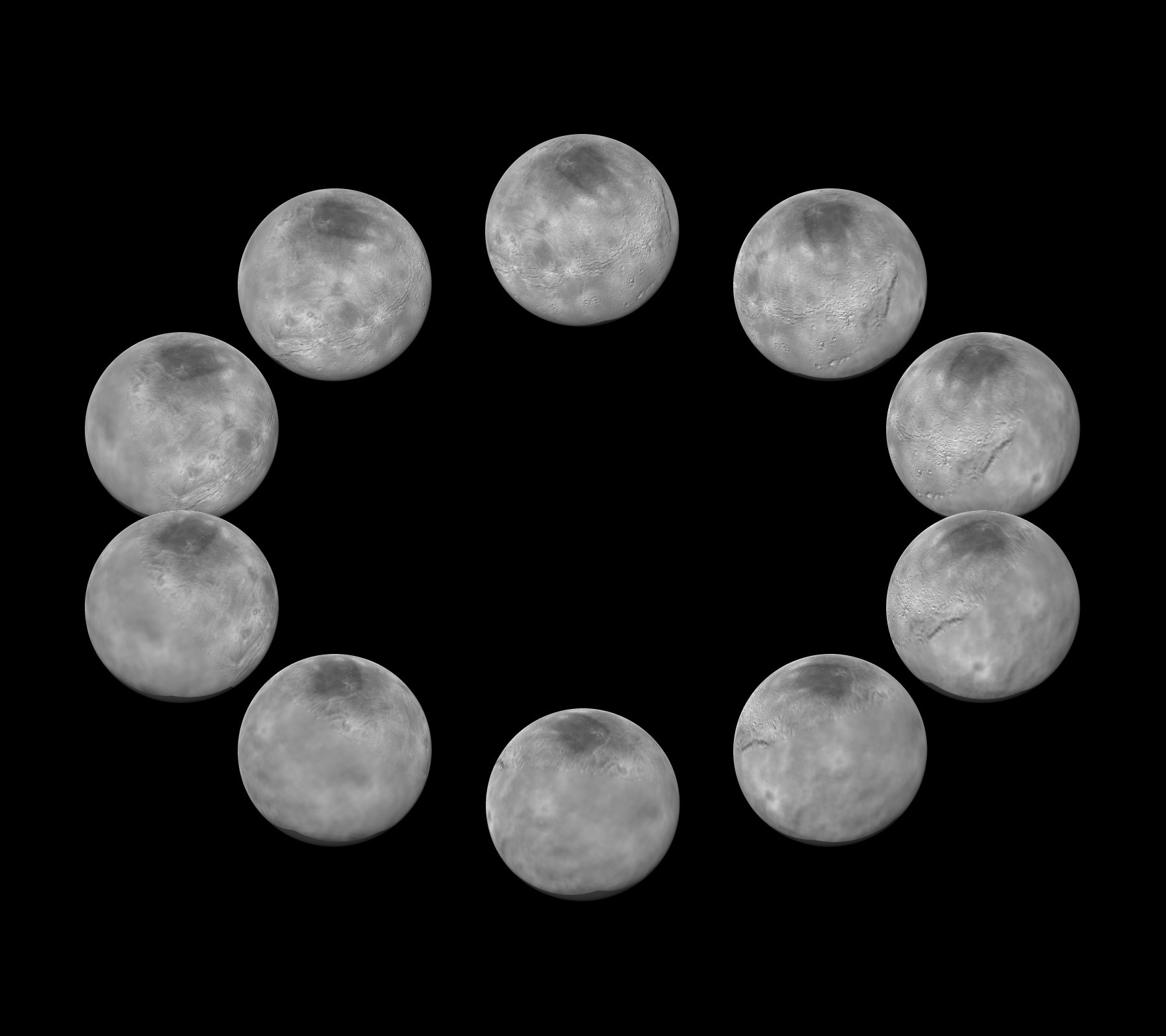 Charon Moon National Aeronautics And Space