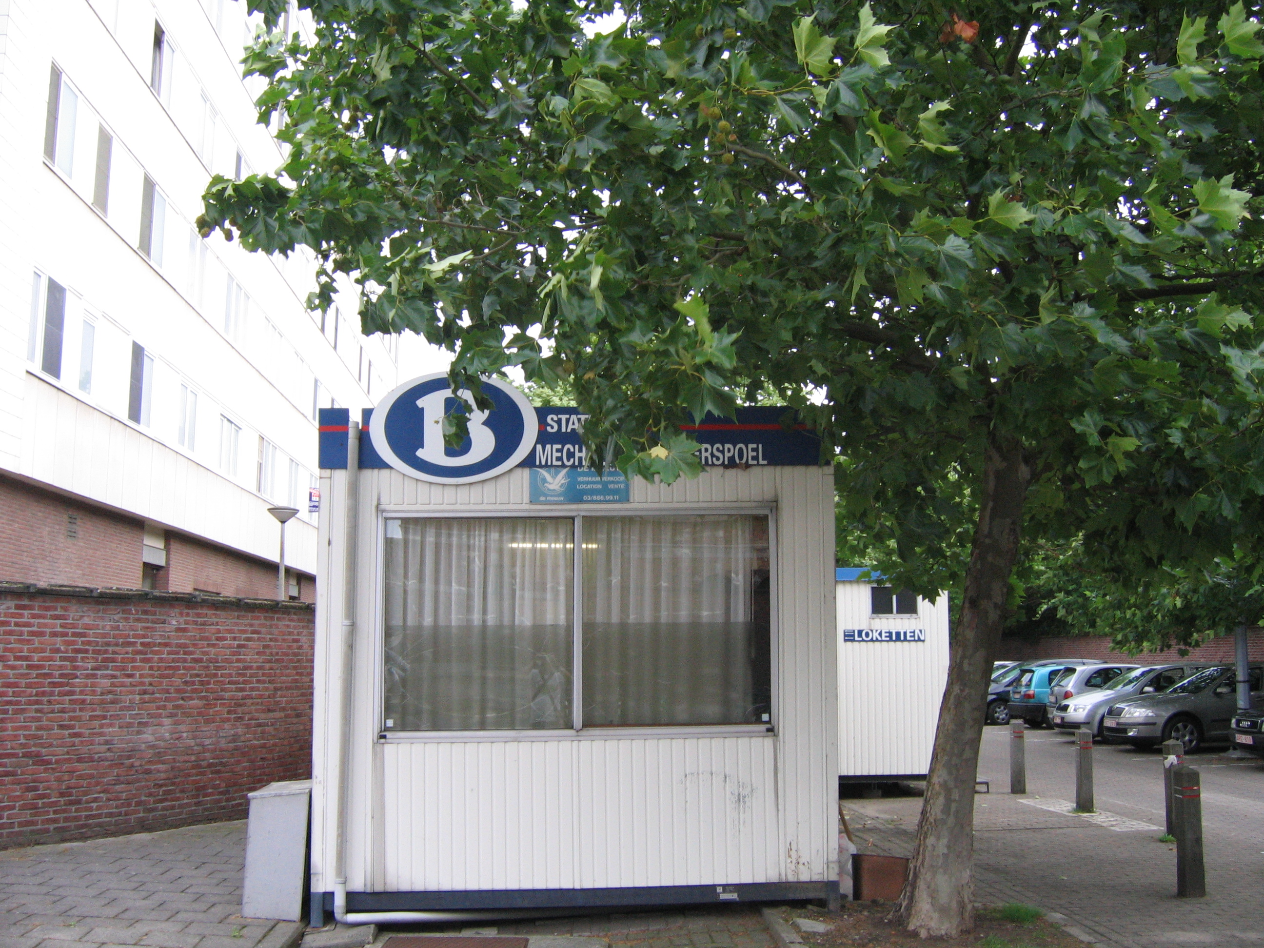 Bestand:NMBS SNCB Mechelen-Nekkerspoel station jpg - Wikipedia