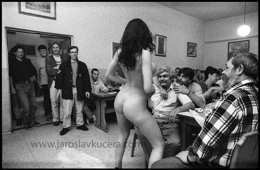 Room full of naked women