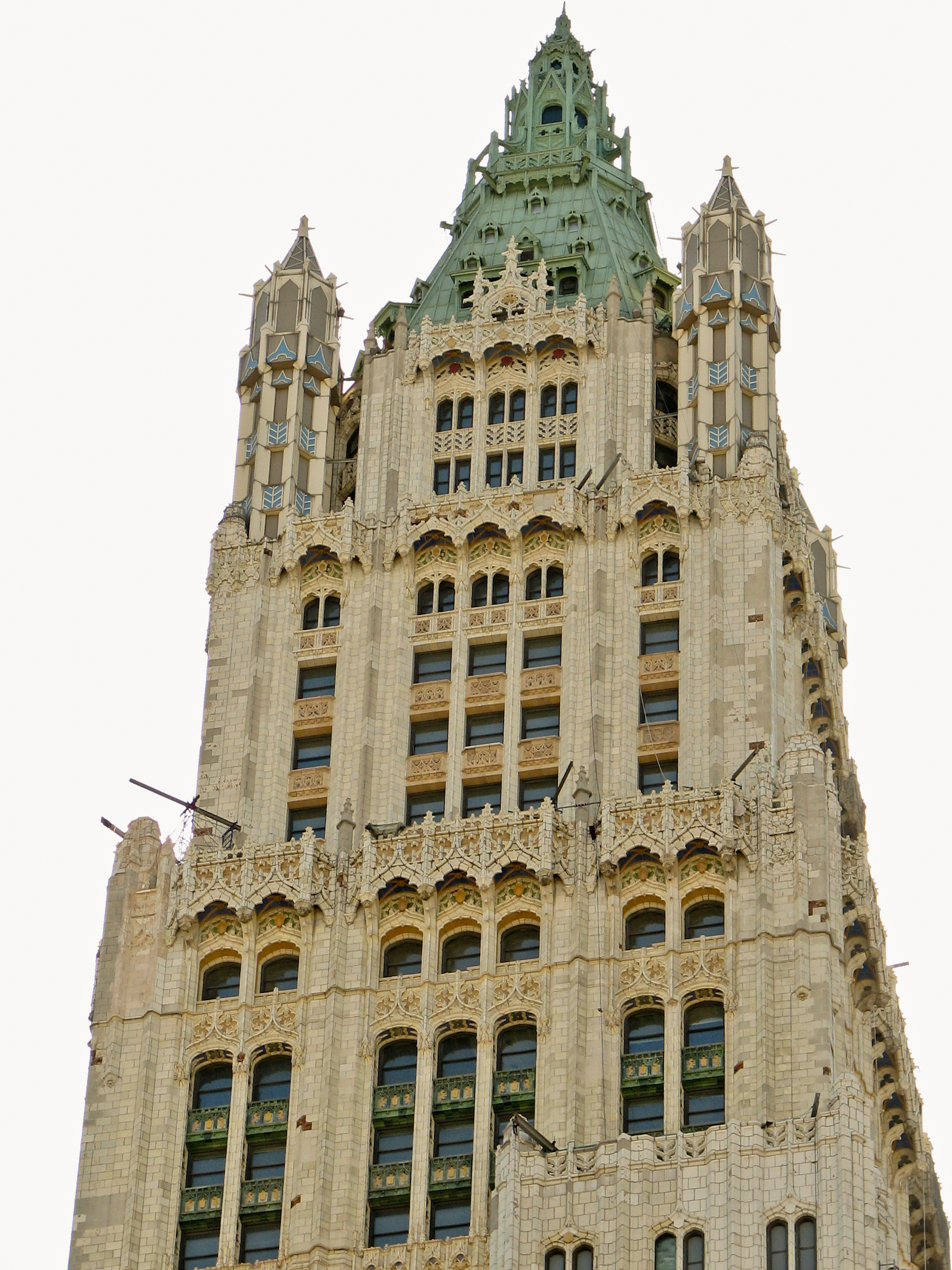 Description new york city woolworth building 02