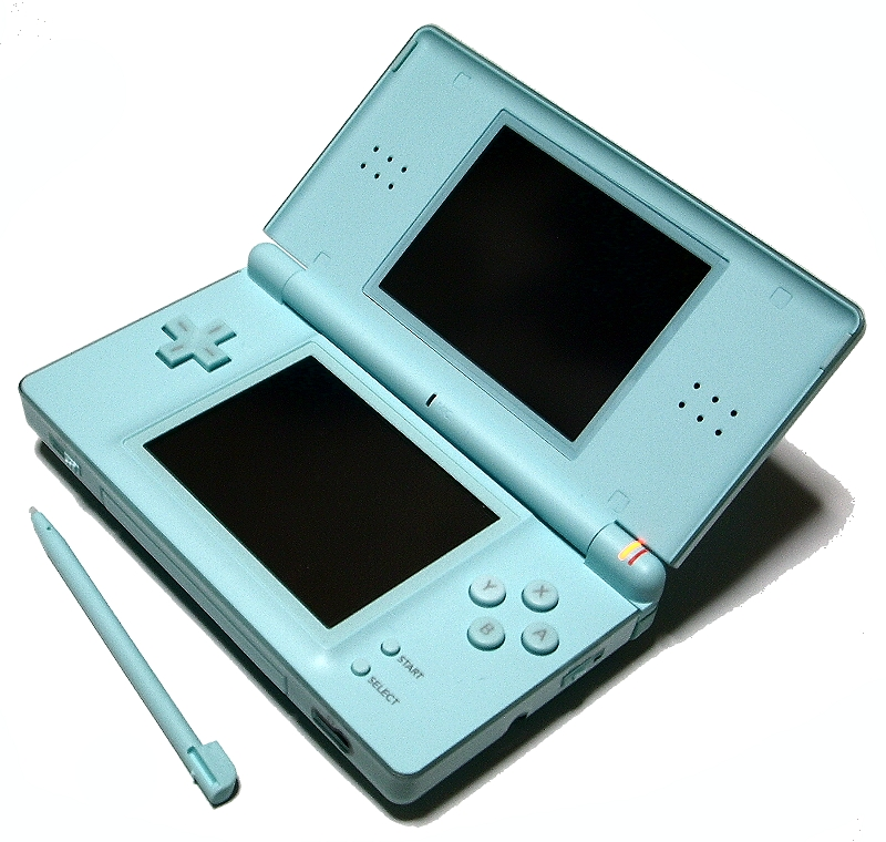 file nintendo ds lite ice blue. Black Bedroom Furniture Sets. Home Design Ideas
