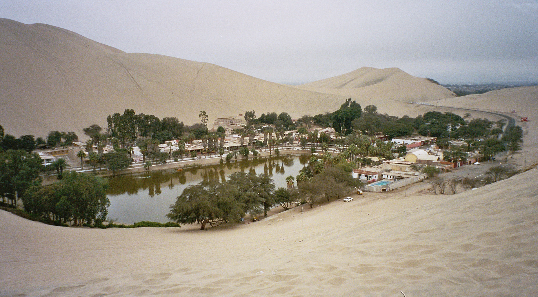 Oase Huacachina in peru