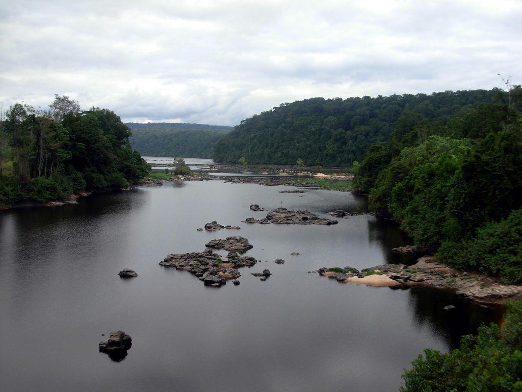 Fluss In Gabun