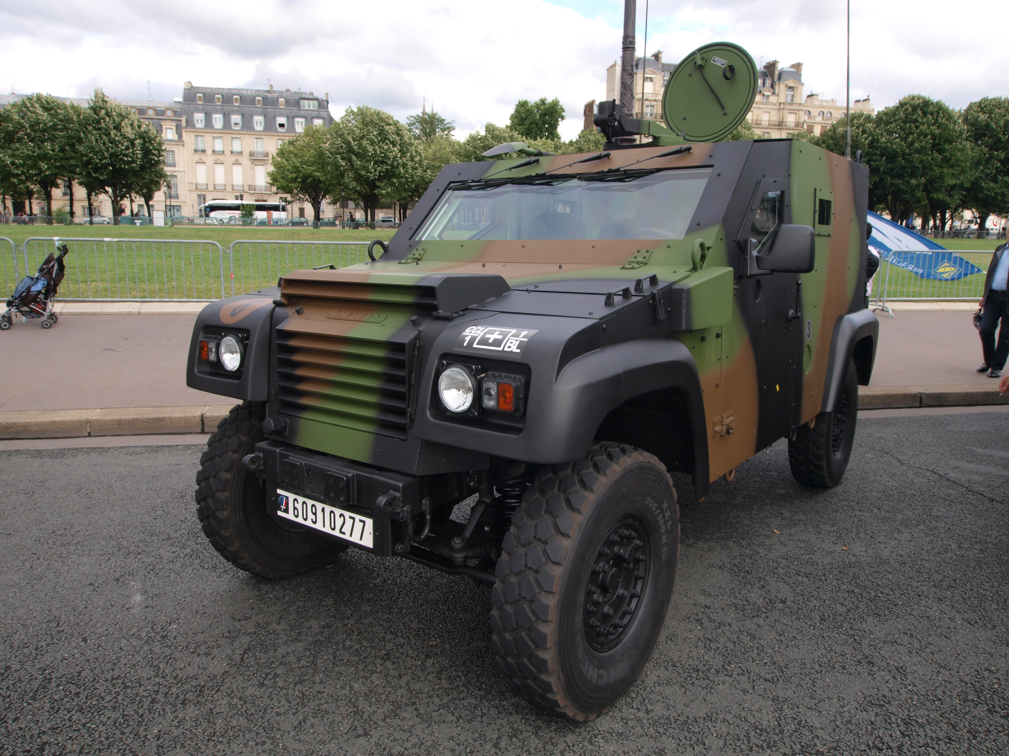 fi ier panhard pvp petit v hicule prot g french army licence registration 39 6091 0277 39 photo. Black Bedroom Furniture Sets. Home Design Ideas