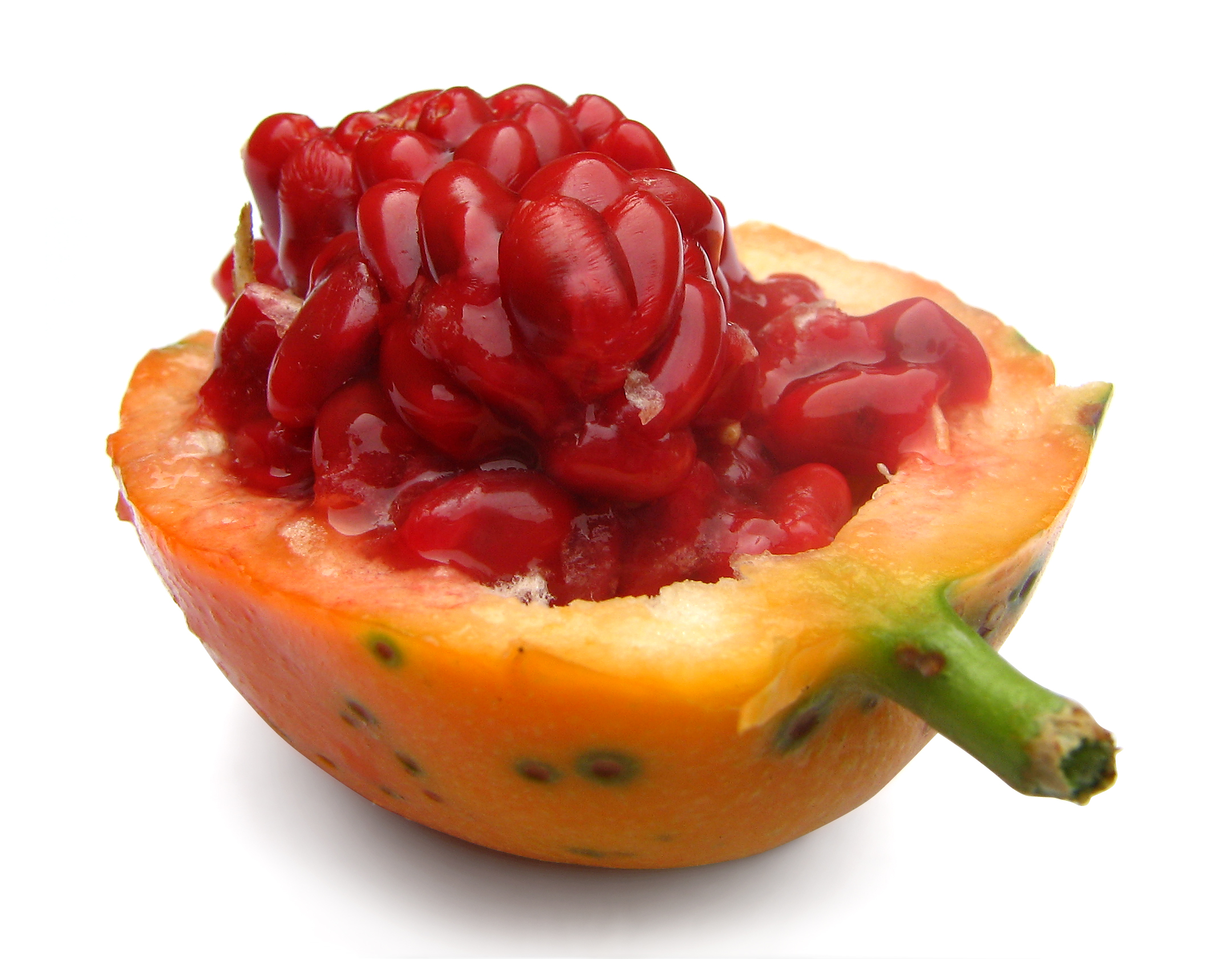 fruit de la passiflore comestible