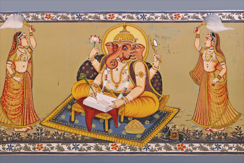 File:Peinture murale (Palais du Fort Meherangarh, Jodhpur) (8418402841 ...
