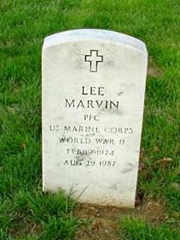 Grab von Lee Marvin