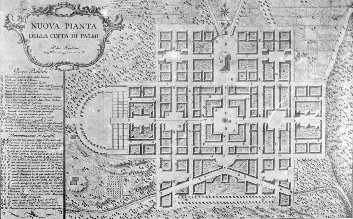 File piano regolatore di palmi del 1783 jpg wikipedia for Planimetrie di 1800 piedi quadrati