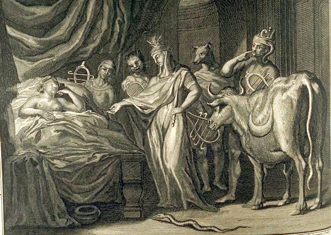 Picart - Isis Telethusa