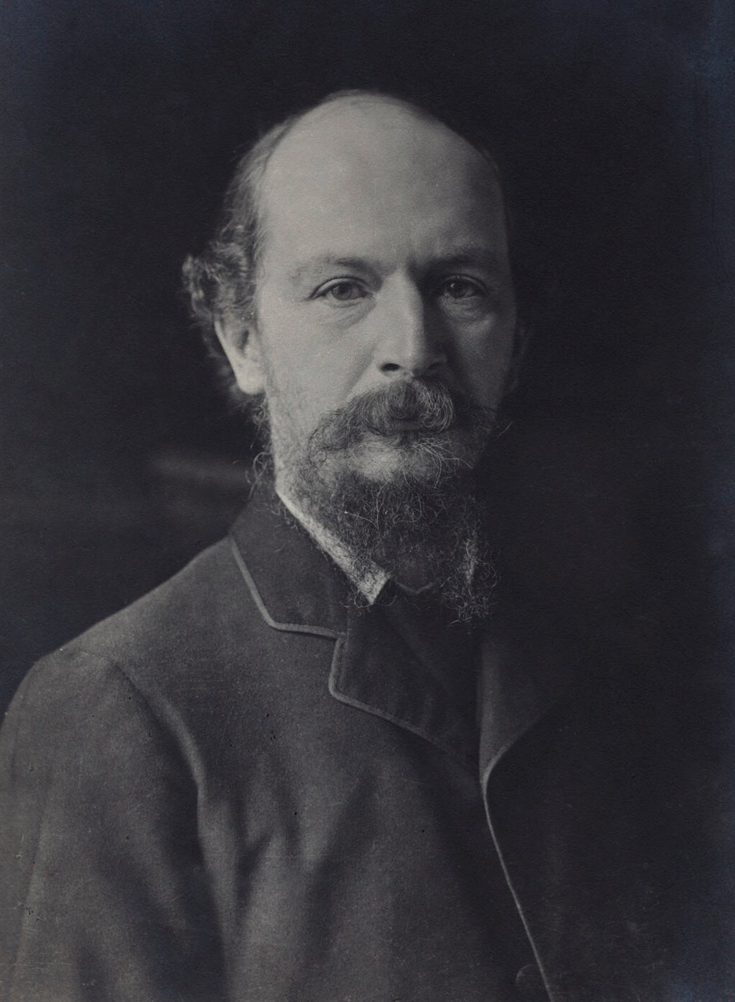 Photo of Algernon Charles Swinburne
