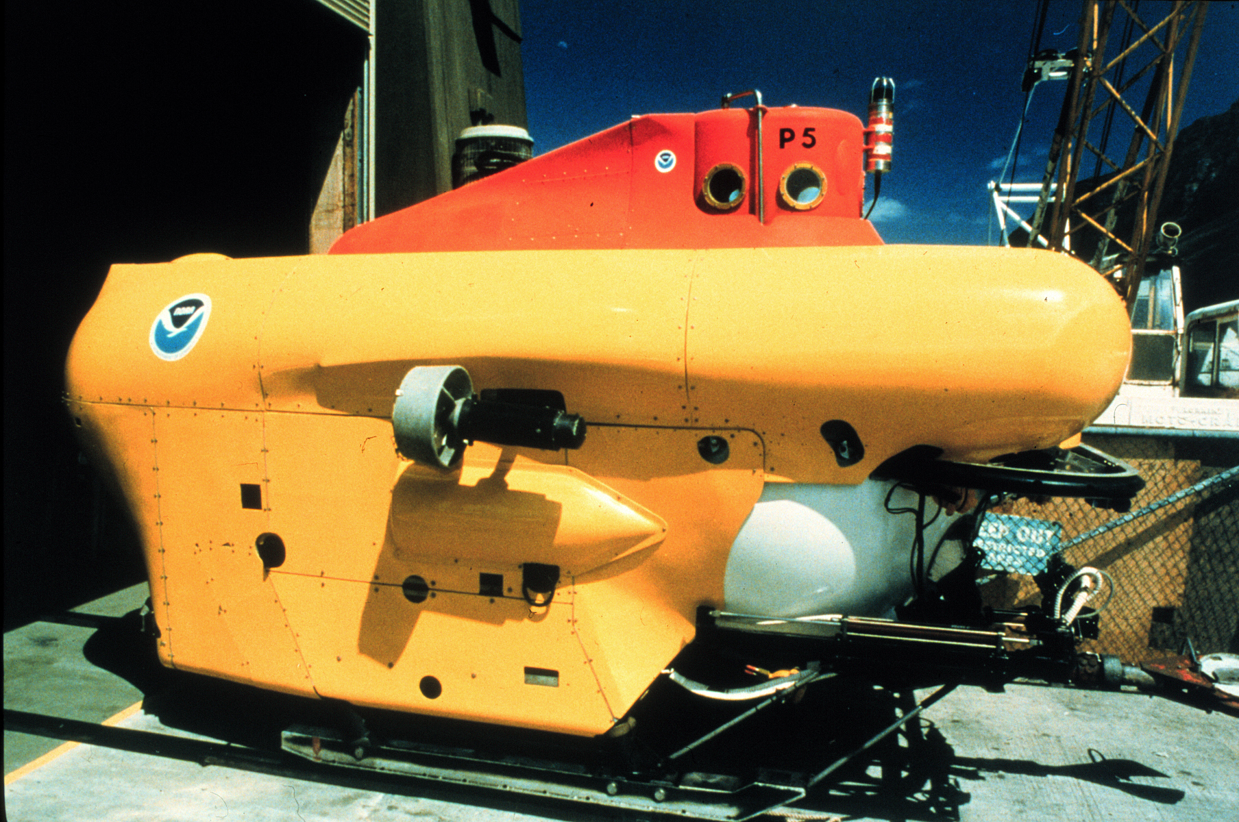 loading image for Pisces-class deep submergence vehicle