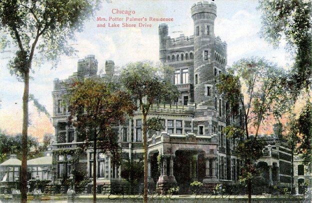 Potter Palmer Mansion old