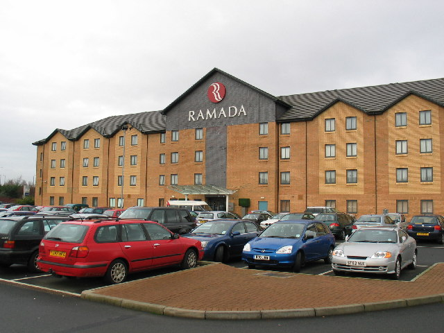 File Ramada Hotel Opposite Glasgow Airport Geograph Org Uk 110657