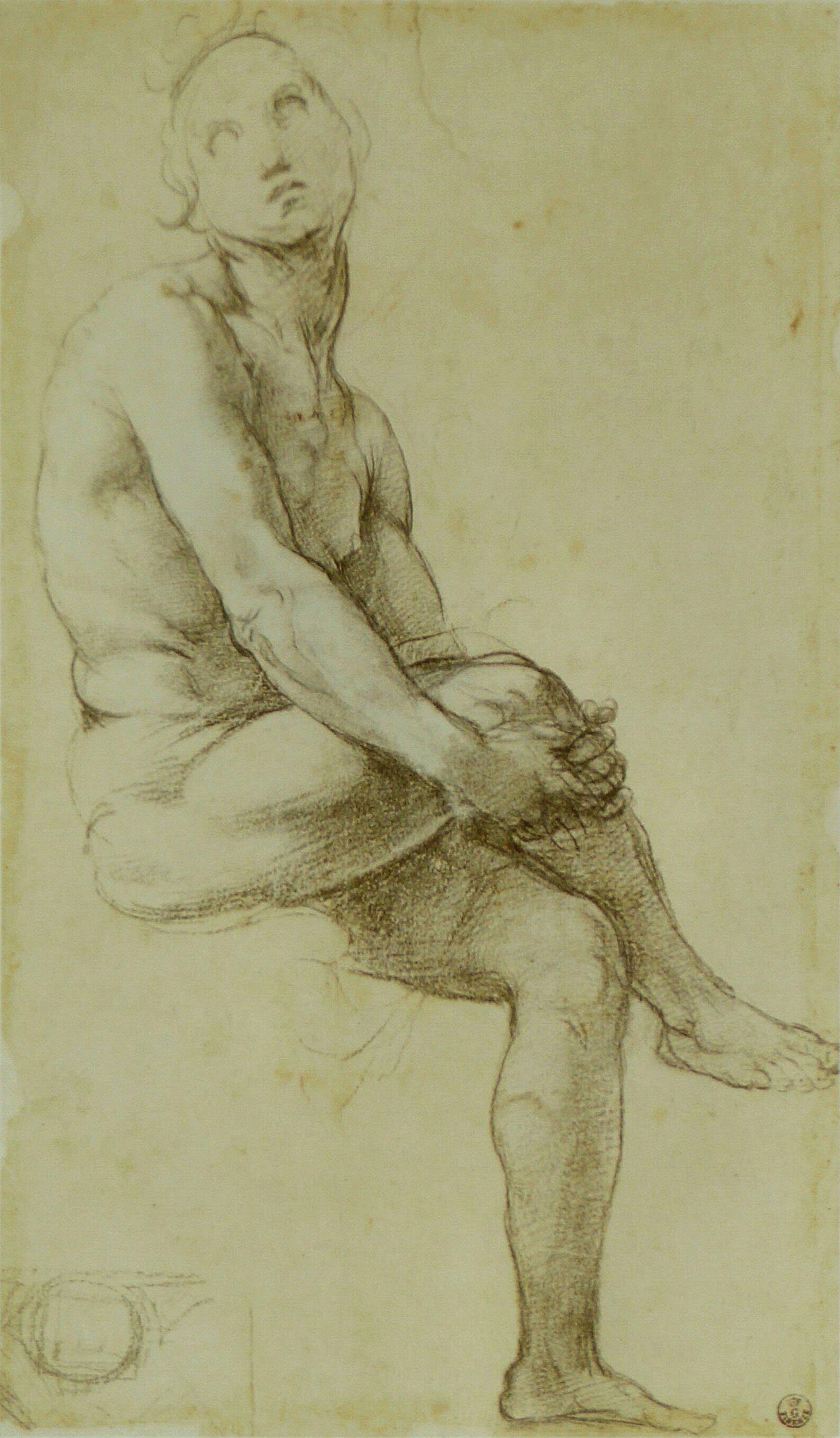 File Raphael Etude De Nu Assis Jpg Wikimedia Commons