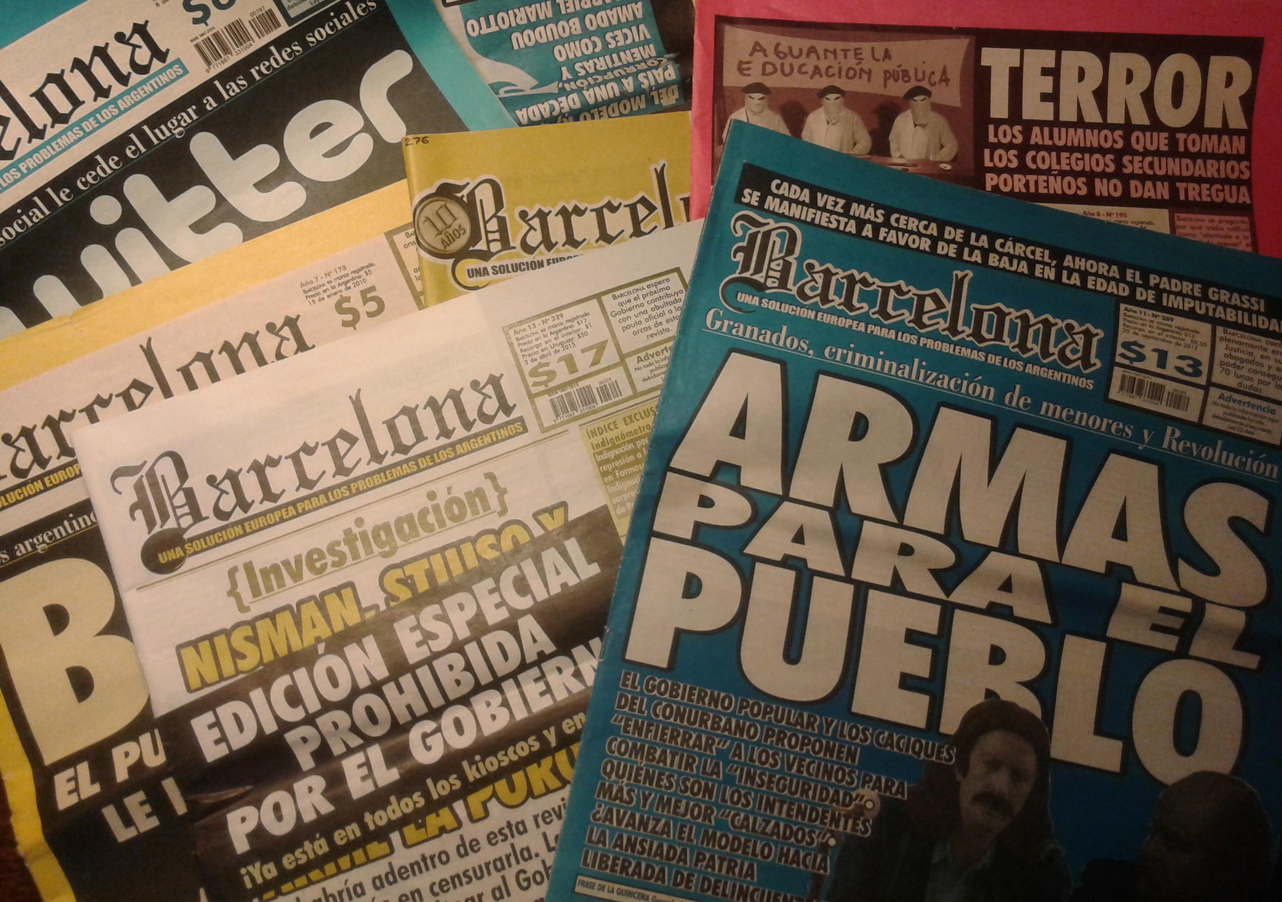 Barcelona Revista Wikipedia La Enciclopedia Libre