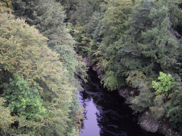 River Garry from Garry Bridge - geograph.org.uk - 1588212