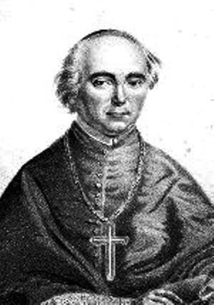 Roman Sebastian Zängerle, 1824-1848 Fürstbischof von Seckau, zeitgenössische Lithographie.jpg