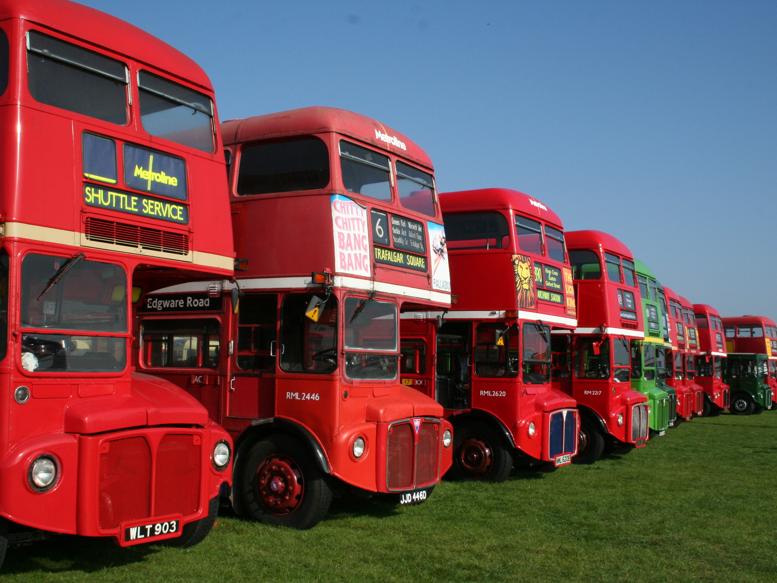 File Routemaster Buses Rml903 Rml2446 Rml2620 Rm2217 At