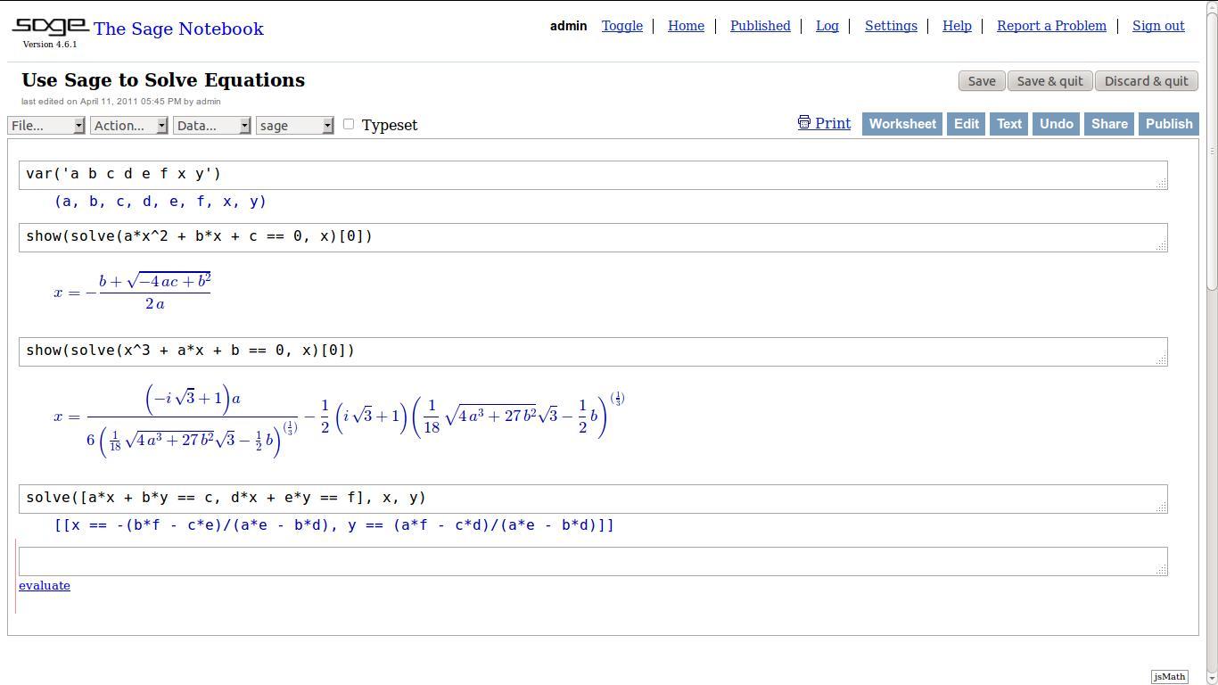 sage math online