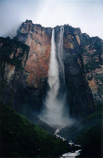 Angel Falls, highest waterfall in the world, largest waterfalls in the world