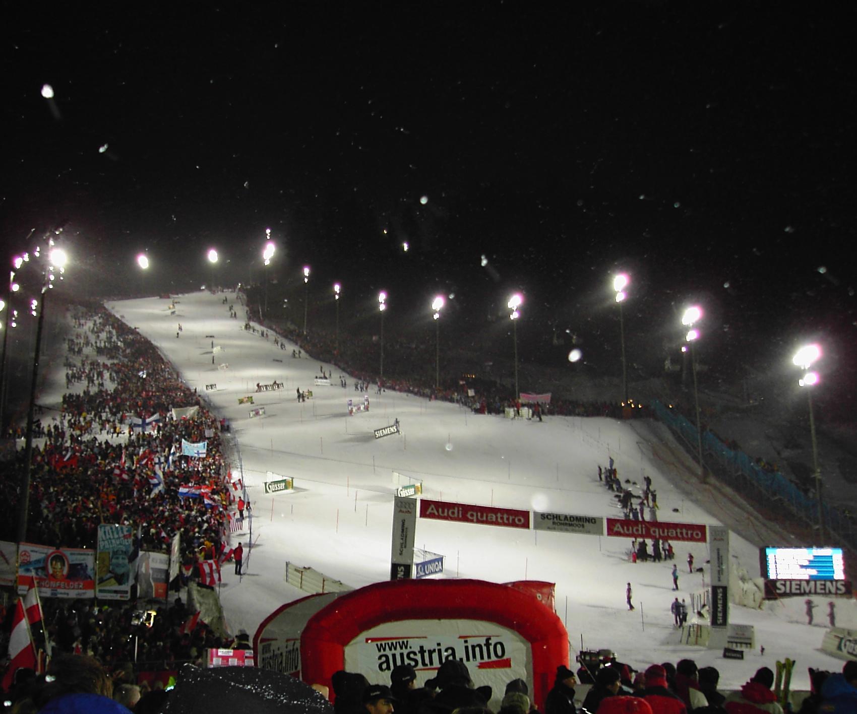 skirennen schladming