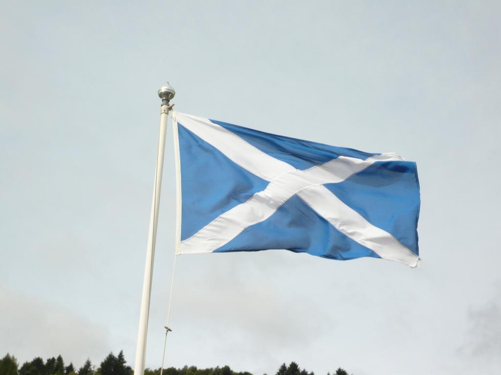 Skotska vlajka
