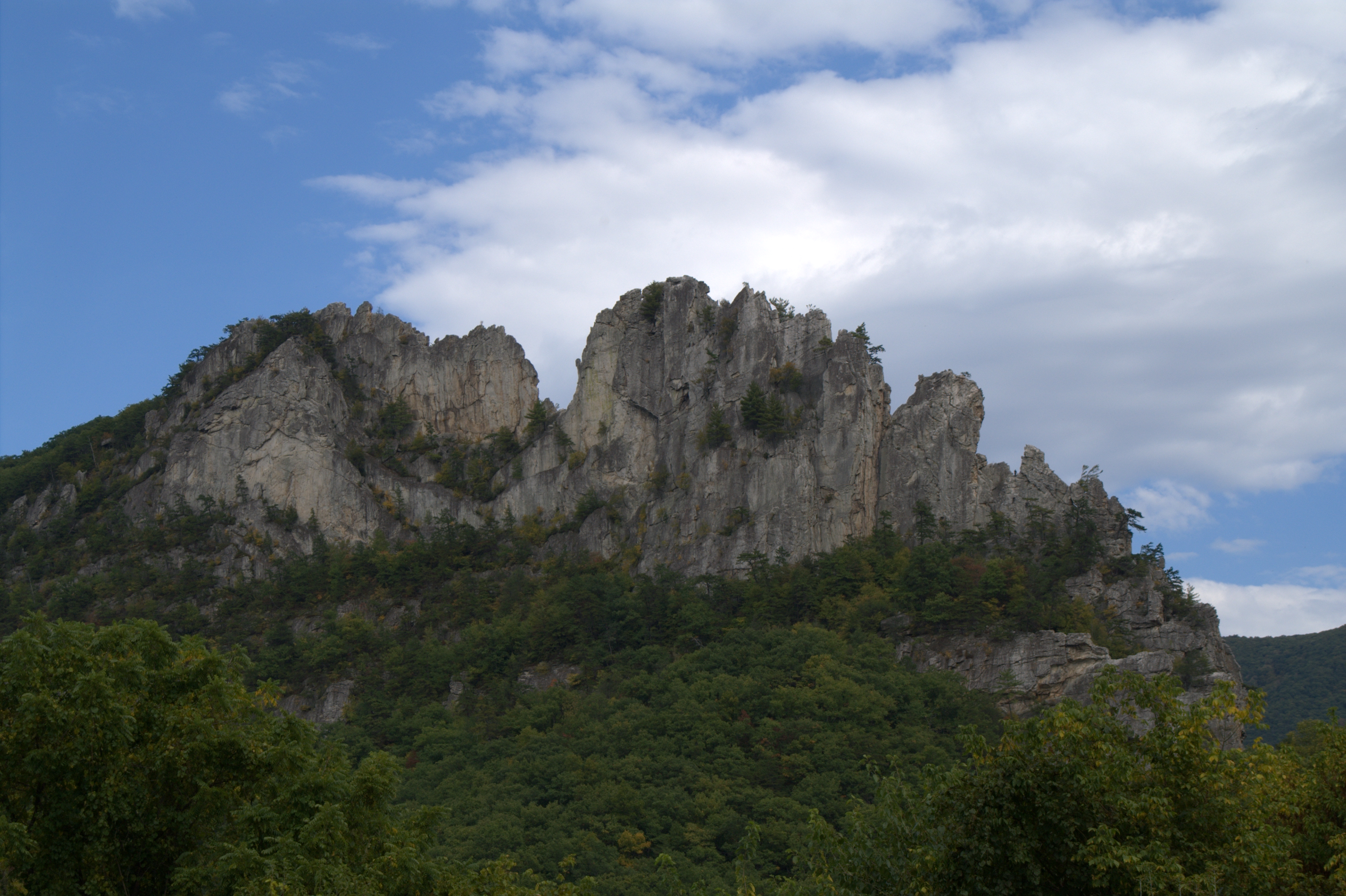 seneca rocks height