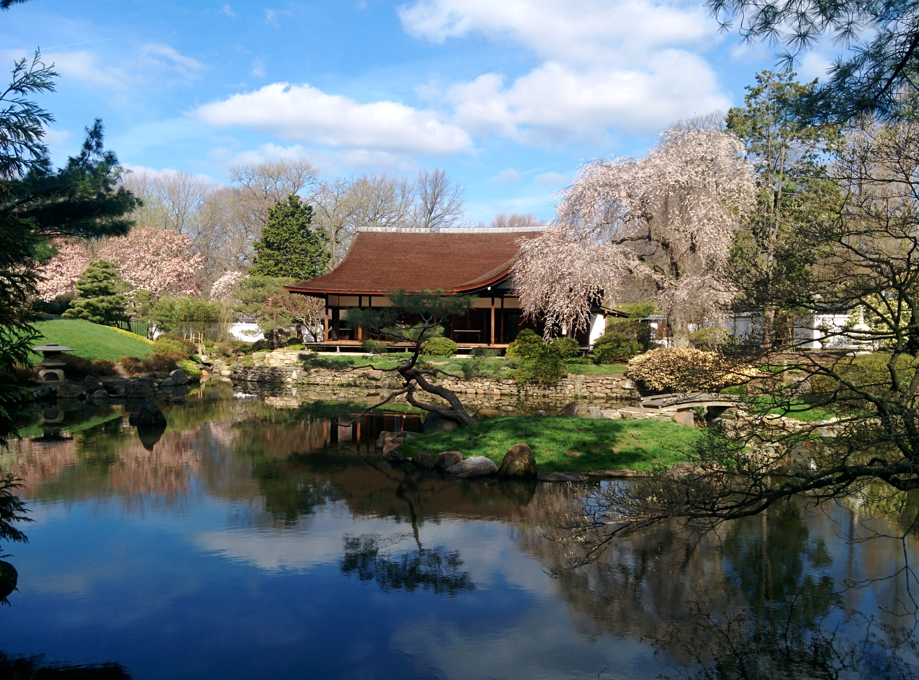 Shofuso japanese house and garden wikiwand for Japanese garden house